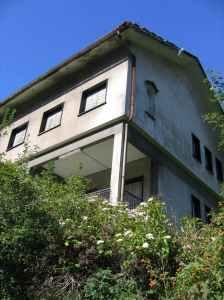 Una parte dell'ex ospedale Luigi Frugone, a Busalla