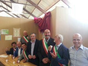 Con i sindaci della Val Trebbia