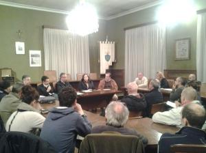 Riunione con Renzo Guccinelli su fondi per alluvione