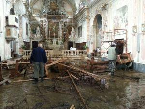 Alluvione Campo Ligure: la chiesa