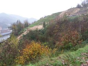 frana località Mongrosso, a Campo Ligure