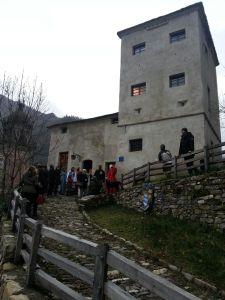 Castello Fieschi a Senarega, in Valbrevenna
