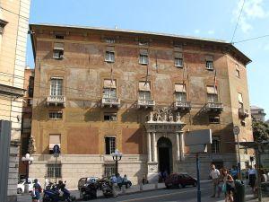 Palazzo Doria Spinola, sede della Città Metropolitana di Genova