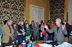 Piero Fossati saluta i dipendenti della Provincia di Genova